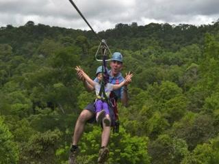El Santuario Canopy Adventure Tour Costa Ricau0027s Longest Zipline Manuel Antonio 1.3 Kilometers & Costa Ricau0027s Longest Zipline Manuel Antonio 1.3 Kilometers ...