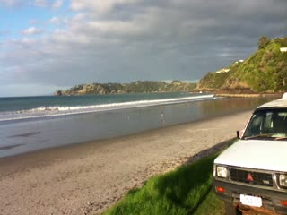 Charley Farley's: Beach in front of Charley Farleys