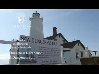 New Dungeness Lighthouse : Dungeness Lighthouse and Spit, Dungeness National Wildlife Refuge