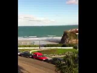 Minerva Hotel: View from bedroom window