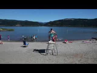 Hood River Cross-Channel Swim Event 2013