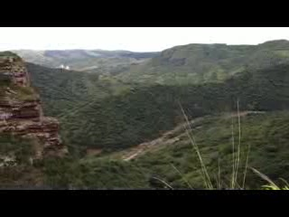 Oribi gorge -wild swing near the falls