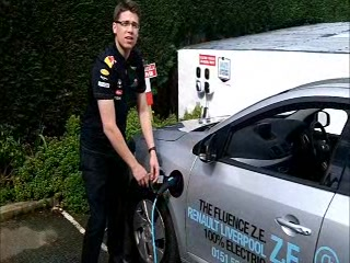 Bryn Bella Guest House: Electric Cars in Snowdonia