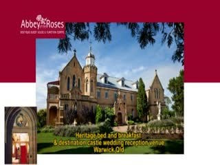 Warwick, Australia: Abbey of the Roses Castle B&B