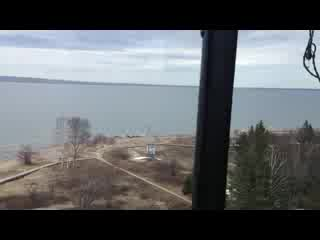 Sault Ste. Marie, มิชิแกน: What a view