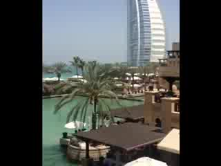 Jumeirah Mina A'Salam: Mina Salam Balcony View