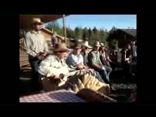 Hell's A-Roarin' Outfitters : Cowboy Cookoff Campfire Singing