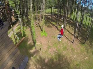 Morganton, Carolina del Norte: Zipline Fun