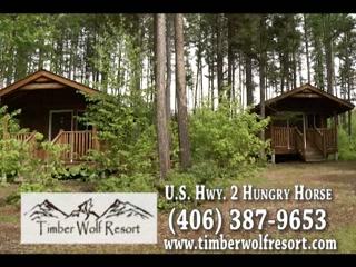 Timber Wolf Resort : Authentic Montana