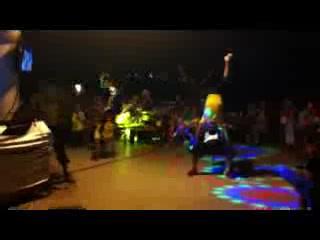 Bodrum Turquoise Homes: break dancers at Turkish night
