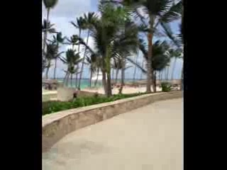 Majestic Colonial Punta Cana: Beach view from pavilion