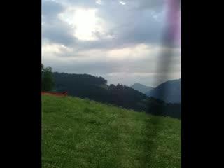 BEST WESTERN PREMIER Kaiserhof Kitzbühel: Panorama from across the hill