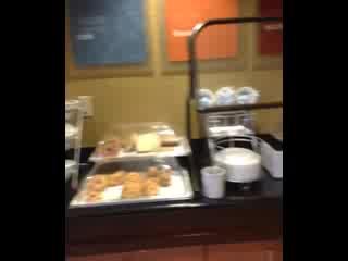 Comfort Suites Vero Beach : Breakfast