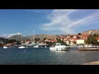 Hotel Croatia Cavtat: View from beach loungers