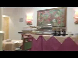 Hotel Argentina dining room