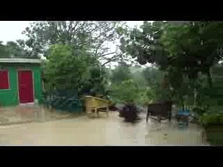 Sandy's By The Sea: Jamaica thunderstorm