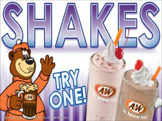 A & W All American Food: A&W Root beer of Lodi