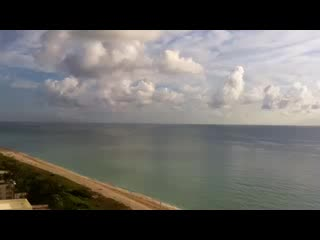 Grand Beach Hotel: Time lapse desde mi balcón en el piso 18 del Grand Beach
