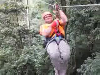 Arenal View Theme Park: Zipline Video