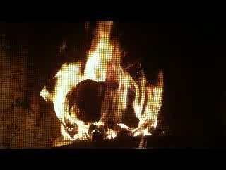 Morning Mist Cottage Retreat : Morning Mist Wood Burning Fire