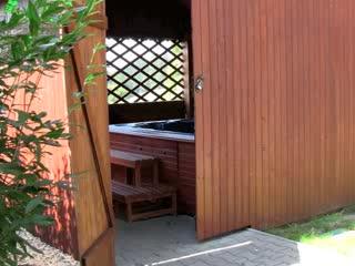 Bella Cottage - Chalupa Bella: Outside spa