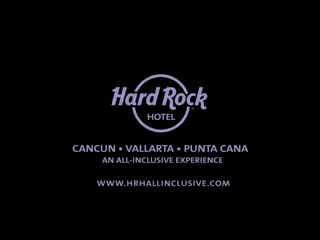 See the show at Hard Rock Hotel Cancun