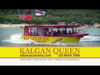 The best thing to do in Albany, Kalgan Queen Scenic Cruises.