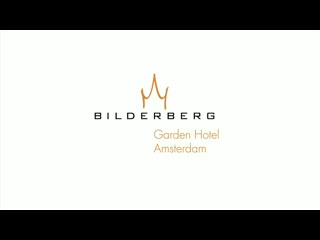 Bilderberg Garden Hotel Amsterdam video van Bilderberg Garden
