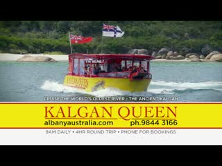 Albany, Australia: 15 seconds on the Kalgan Queen