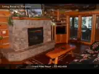 Grand Pines Resort & Motel : 3 Bedroom Executive Cabin