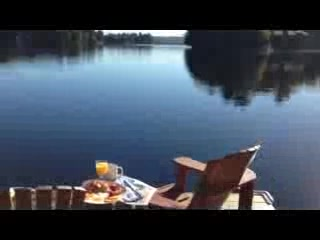 Port Carling, Canada: Breakast Muskoka Style!
