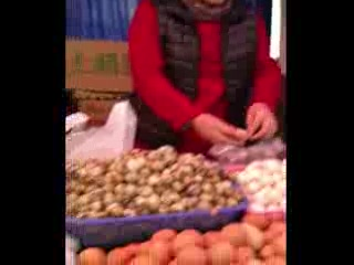 Shanghai, Kina: So many eggs!!!