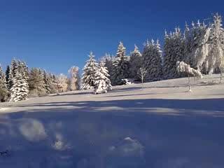Benecko, República Checa: Winter panoramatic view 1