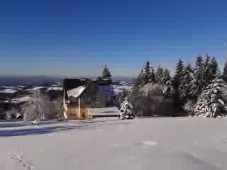 Benecko, República Checa: Winter panoramatic view 2