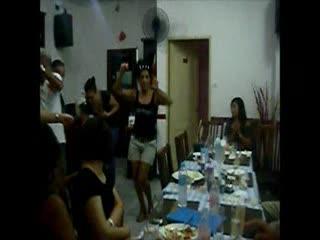 Greek Garden Taverna Pattayanis : smashing the plates when greek dancing starts at pattayanis