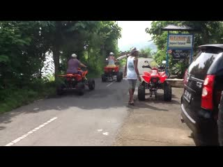 Paradise Bungalows Bali: ATV Quad Bikes Tour Hire