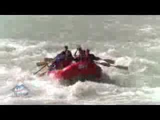 Rafting in Jasper National Park