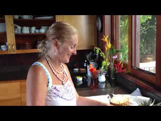 Holualoa Inn: Hawaiian Delicious White Pineapple