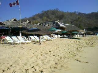 Nivel Mar Beach Club & Restaurant: Nivel Mar at Maguey Bay.