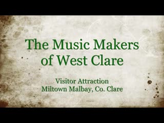 "Miltown Malbay, Irland: ""The Music Makers of West Clare"" Visitor Attraction, where you can  im"