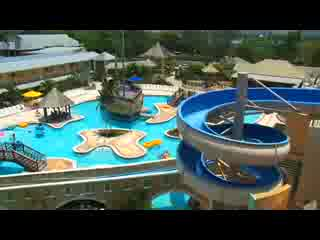 Sunset Beach Resort Spa Waterpark Video Of Sunscape