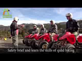 Hanmer Springs Adventure Centre : Quad biking