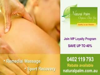 Natural Palm Day Spa: Organic Day Spa