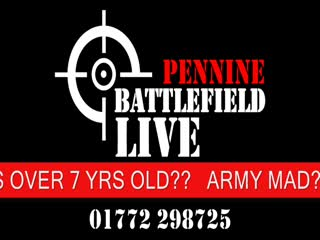 Battlefield LIVE Pennine: The Best Outdoor Laser Tag Party In Lancashire - Book NOW!