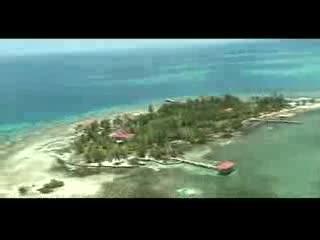 Hatchet Caye Resort: Hatchet Caye Belize Aerial Tour