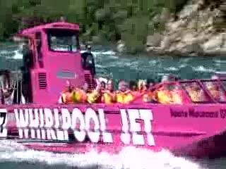 Whirlpool Jet Boat Tours: Family Fun Adventure