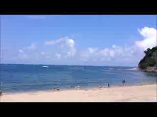 Wajima, ญี่ปุ่น: 輪島温泉から徒歩1分の袖ヶ浜海水浴場