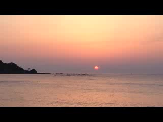 Wajima, ญี่ปุ่น: 袖ヶ浜海水浴場の夕日