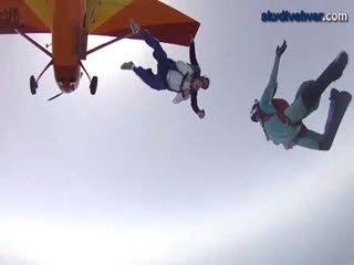 Island Hvar, skydive