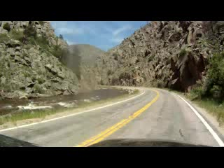 Fort Collins, CO: Poudre River Canyon Video
